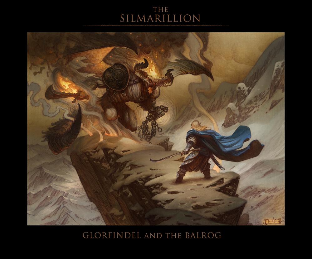 The Silmarillion - Glorfindel and the Balrog